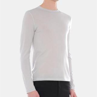 ジルサンダー(Jil Sander)の【セーター】JIL SANDER セーター ライトグレー(ニット/セーター)
