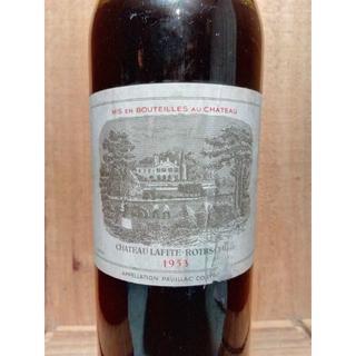 パーカ―100点 1953年 シャトー・ラフィット・ロートシルト(ワイン)