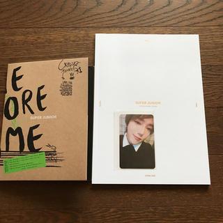 スーパージュニア(SUPER JUNIOR)のSUPER JUNIOR 「ONE MORE TiME」 CD+トレカ(K-POP/アジア)