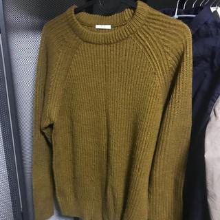 ジーユー(GU)のGU ジーユー ニット セーター 【Sサイズ】【秋物】(ニット/セーター)