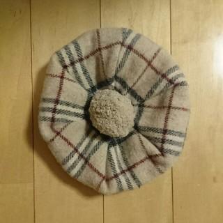 バーバリー(BURBERRY)のBURBERRY ベレー帽(ハンチング/ベレー帽)
