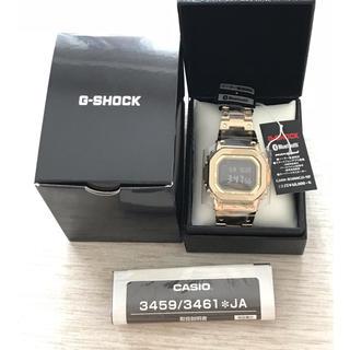 ジーショック(G-SHOCK)の【即購入ok】G-SHOCK GMW-B5000GD-9JF プライスタグつき(腕時計(デジタル))