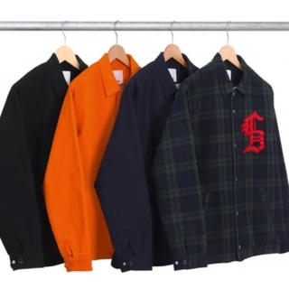 シュプリーム(Supreme)の2012AW Supreme Canvas Coaches Jacket S(ブルゾン)