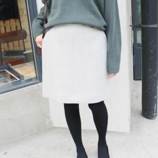 イエナスローブ(IENA SLOBE)のメルトン台形スカート(ミニスカート)