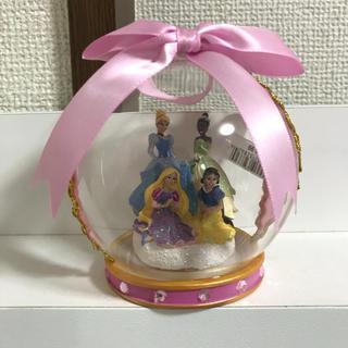 Disney - ディズニー  プリンセス  ガラスドーム  オーナメント