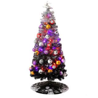 ディズニー(Disney)の【限定生産】ナイトメアビフォアクリスマス ツリー(置物)