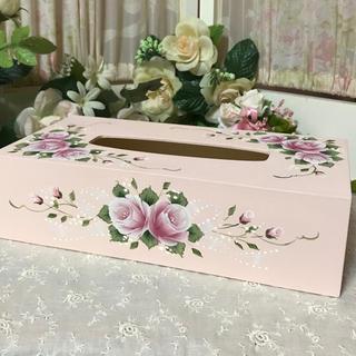 バラのティッシュボックス(その他)