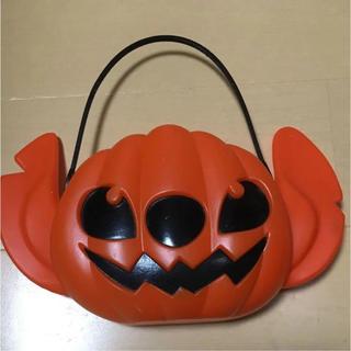 Disney - ハロウィーン ハロウィン  グッズ バッグ 容器 スティッチ