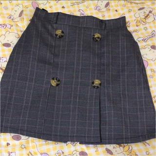 シマムラ(しまむら)のチェック スカート(ミニスカート)