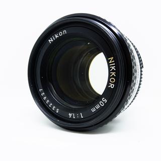 Nikon Ai-s NIKKOR 50mm f1.4(レンズ(単焦点))