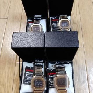 ジーショック(G-SHOCK)の新品未開封 GMW-B5000GD-9JF  x4(腕時計(デジタル))