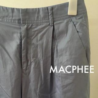 マカフィー(MACPHEE)の【美品】MACPHEE パンツ(クロップドパンツ)