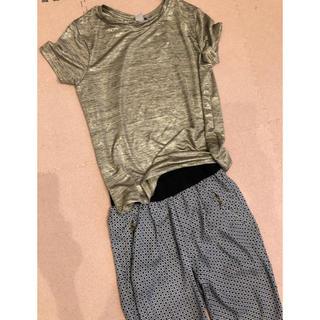 ザラ(ZARA)のパンツとTシャツ セット(Tシャツ)