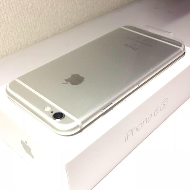 Apple(アップル)の【新品 未使用】iPhone6s 32GB SIMフリー シルバー   スマホ/家電/カメラのスマートフォン/携帯電話(スマートフォン本体)の商品写真