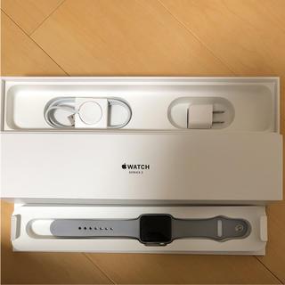 アップルウォッチ(Apple Watch)のApple Watch Series3 42mm ジャンク品(腕時計)
