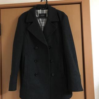 バーバリーブラックレーベル(BURBERRY BLACK LABEL)のバーバリー ブラックレーベル羊毛Pコート (ピーコート)