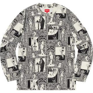 シュプリーム(Supreme)のM Supreme Salome L/S Top BLACK(Tシャツ/カットソー(七分/長袖))