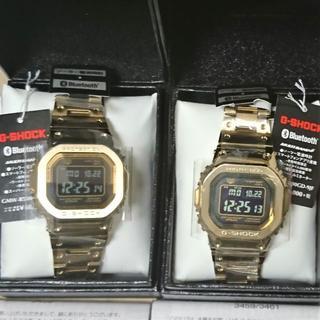 ジーショック(G-SHOCK)の【新品・送料込】 GMW-B5000GD-9JF 2個 プライスタグ付き(腕時計(デジタル))