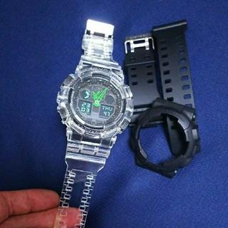 ジーショック(G-SHOCK)のG-SHOCK クリアバンドとベゼルのセット(腕時計(デジタル))