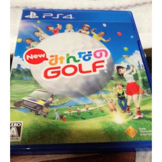 プレイステーション4(PlayStation4)のps4 みんなのGOLF 美品(家庭用ゲームソフト)