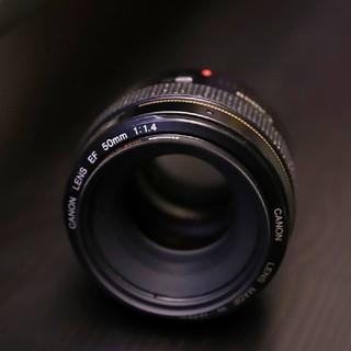 キヤノン(Canon)のキヤノン CANON EF50mm f1.4USM(レンズ(単焦点))