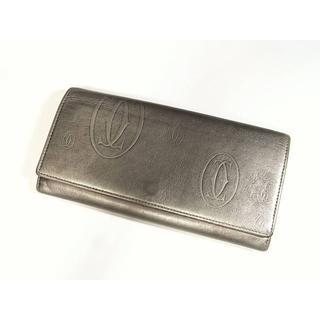 cebf0f147fbf カルティエ(Cartier)の専用カルティエ バースデー カーフ製小銭入れ付き長財布 シルバー