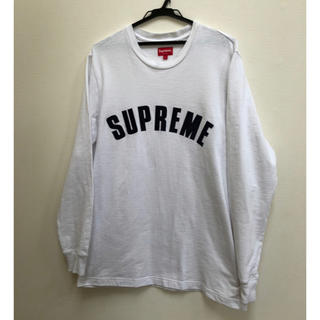 シュプリーム(Supreme)のsupreme arc logo ホワイト Lサイズ(Tシャツ/カットソー(七分/長袖))