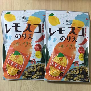レモスコ red味のり天 2袋 セット(菓子/デザート)