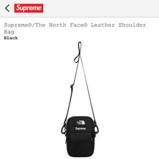 シュプリーム(Supreme)のSupreme×The North Face   レザーショルダーバック(ショルダーバッグ)