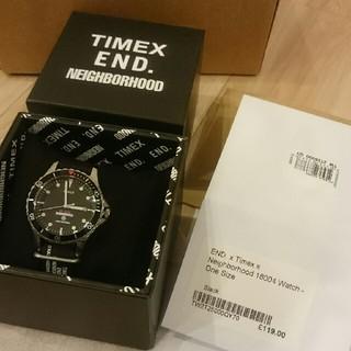 ネイバーフッド(NEIGHBORHOOD)のEND. X TIMEX X NEIGHBORHOOD 18004 WATCH(腕時計(アナログ))