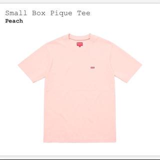 シュプリーム(Supreme)のsupreme small box pique tee(Tシャツ/カットソー(半袖/袖なし))