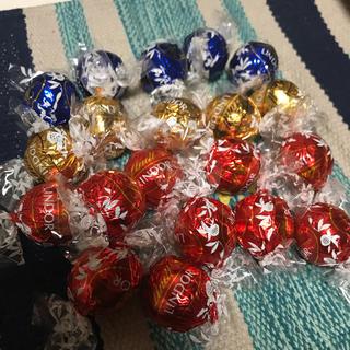 リンツ(Lindt)のリンツ リンドール チョコレート 20粒(菓子/デザート)