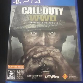 プレイステーション4(PlayStation4)のCODコールオブデューティ WWII  ww2 (家庭用ゲームソフト)