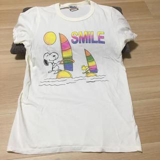 ジャンクフード(JUNK FOOD)のスヌーピー  アイボリーTシャツ(Tシャツ(半袖/袖なし))