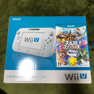 Wii U - Wii U 本体 スマッシュブラザーズ コントローラー付き