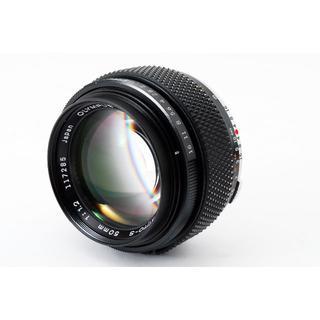 オリンパス(OLYMPUS)のOLYMPUS OM-SYSTEM ZUIKO 50mm F1.2 #1797(レンズ(単焦点))