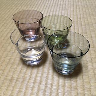 スガハラ(Sghr)のSghr スガハラガラス 4つセット(グラス/カップ)