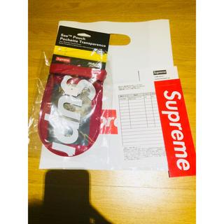 シュプリーム(Supreme)の18ss supreme sealline see pouch L RED 赤(その他)