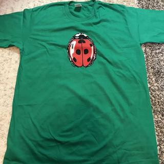 シュプリーム(Supreme)のSupreme Ladybug Tee 緑L(Tシャツ/カットソー(半袖/袖なし))