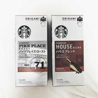 Starbucks Coffee - ◎ STARBUCKS オリガミ ドリップコーヒー セット