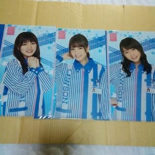 AKB48 10周年記念 A4サイズ クリアファイル 6枚セット おまけ付き