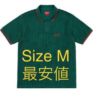 シュプリーム(Supreme)のSupreme Cable Knit Terry Polo ポロ(Tシャツ/カットソー(半袖/袖なし))