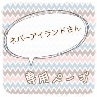 ネバーアイランドさん専用ページ(菓子/デザート)
