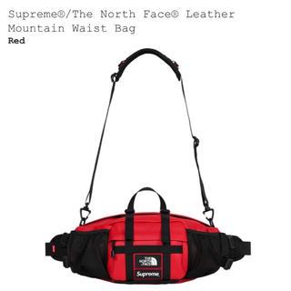 シュプリーム(Supreme)のSupreme The North Face Leather Waist Bag(ボディーバッグ)