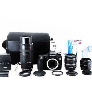 キャノン EOS 70D 超望遠300mm+神単焦点50mm+標準トリプルレンズ(デジタル一眼)