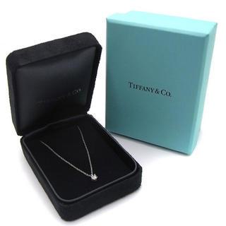 Tiffany & Co. - 【新品未使用、鑑定書付】TIFFANY&Co. ネックレス 0.32CARAT