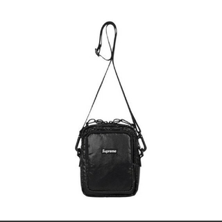 シュプリーム(Supreme)のSupream 17aw shoulder bag BLACK(ショルダーバッグ)