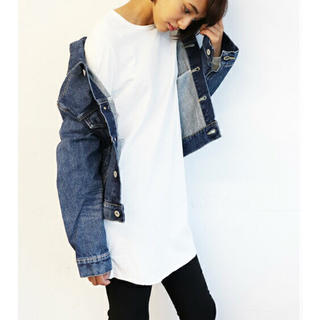 キャナルジーン レイヤード ロンT(Tシャツ/カットソー(七分/長袖))