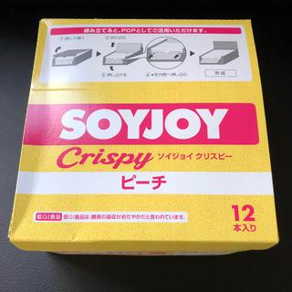 オオツカセイヤク(大塚製薬)のソイジョイ クリスビー ピーチ 12個(菓子/デザート)