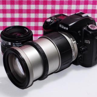 ニコン(Nikon)の⭐️楽しい思い出を形に⭐️Nikon D80 大迫力のダブルズームキット♪(デジタル一眼)